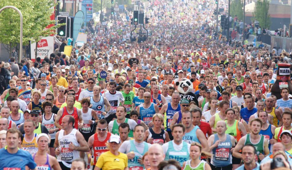 london marathon fundraise bibic charity