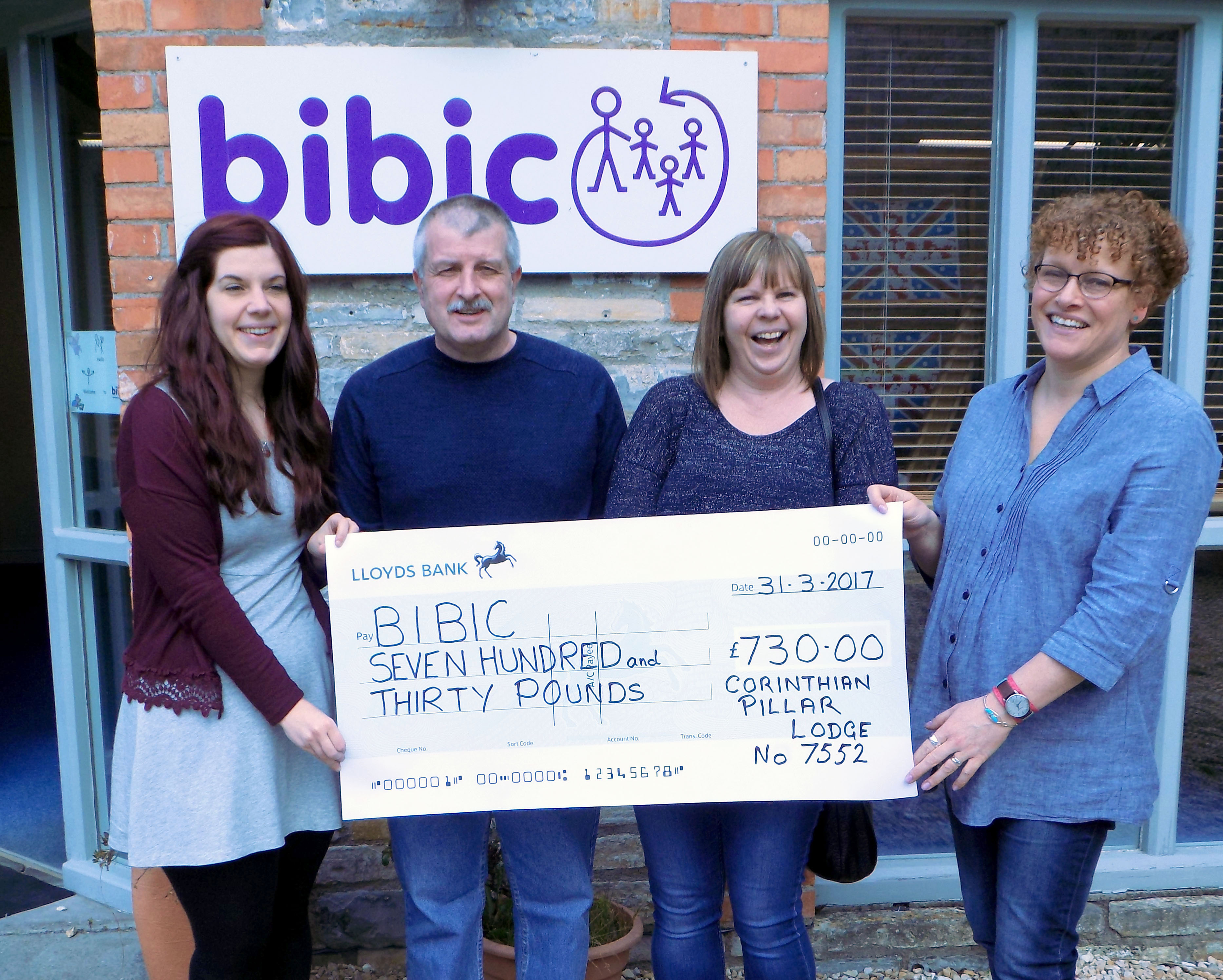 Yeovil based Masons give further support to bibic  - bibic org uk