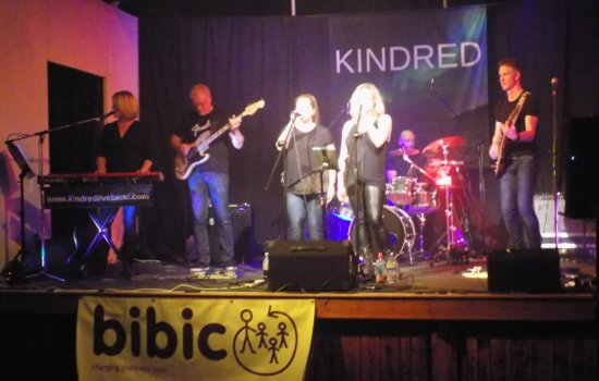 Kindred charity gig bibic