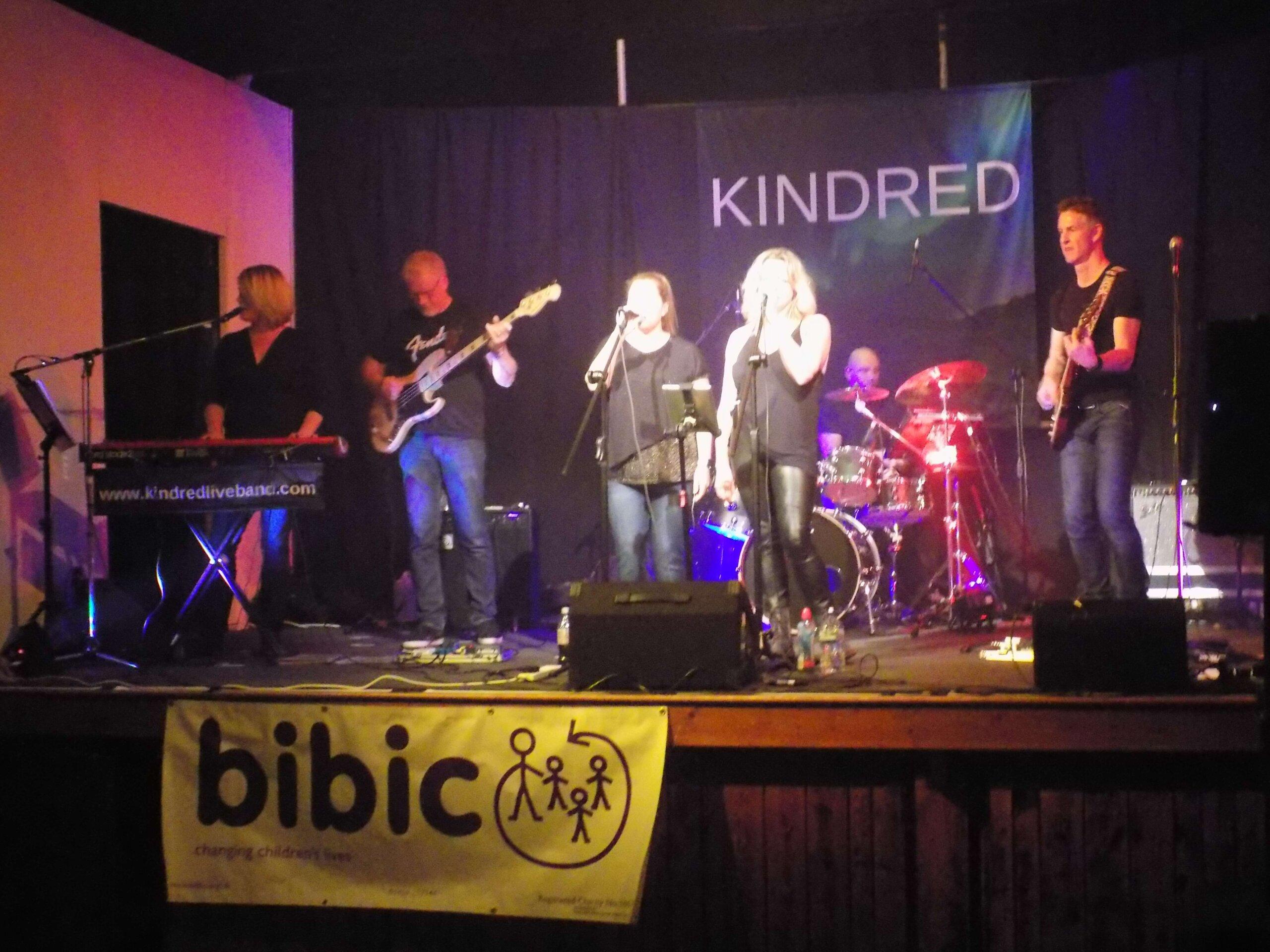 Kindred charity gig bibic