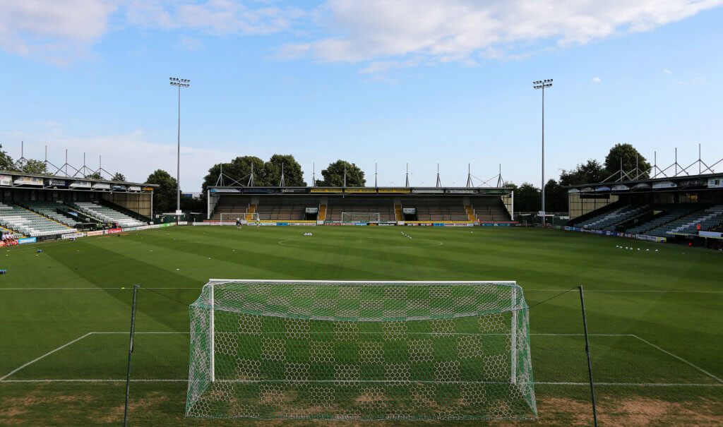 General View during the pre season match between Yeovil Town and Swansea City at the Huish Park in Yeovil Somerset on 10 July. - PHOTO: Cameron Geran/PPAUK