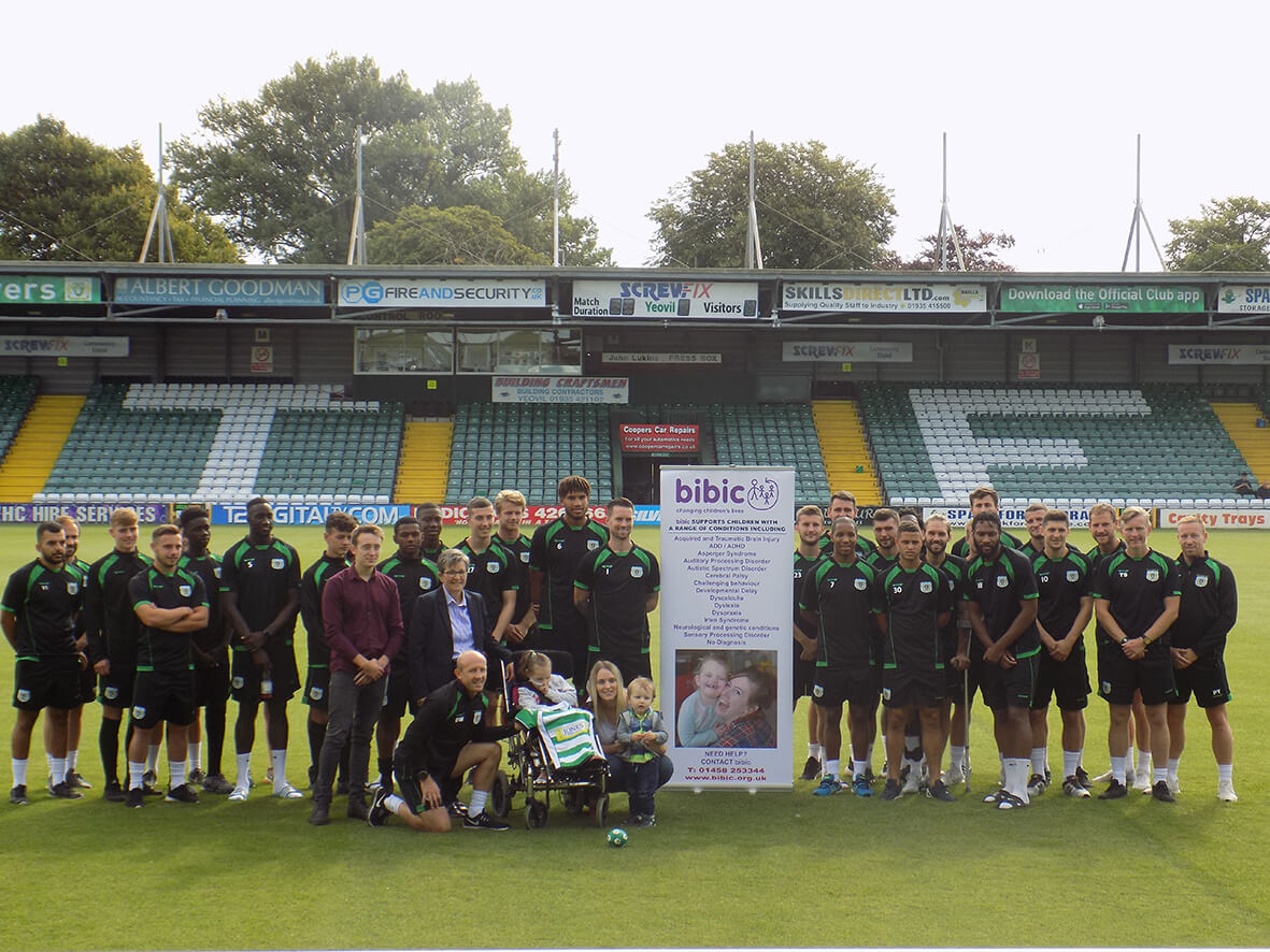 footballathon yeovil charity